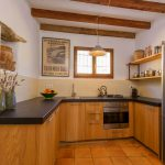 Modern kitchen in old Finca